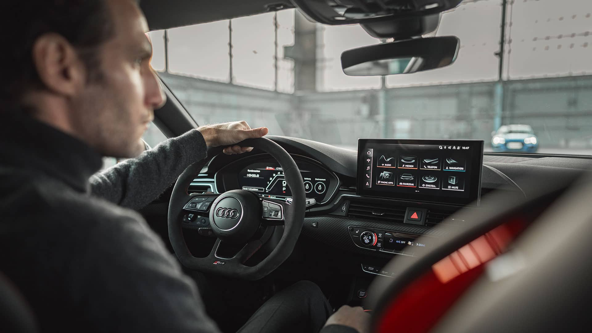 Virtual cockpit Audi RS 5 Sportback